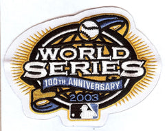 2003 World Series 100th Anniversary Patch