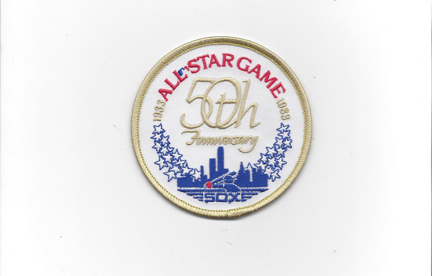 1983 50th Anniversary All Star Game Patch