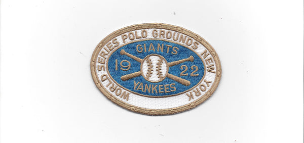 1922 World Series Patch