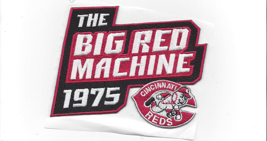 1975 Big Red Machine Patch