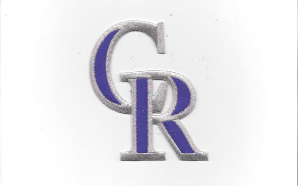 Colorado Rockies CR Patch