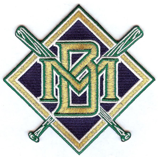 Milwaukee Brewers Retro Patch
