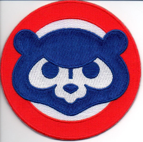 Chicago Cubs 1984 Bear Face