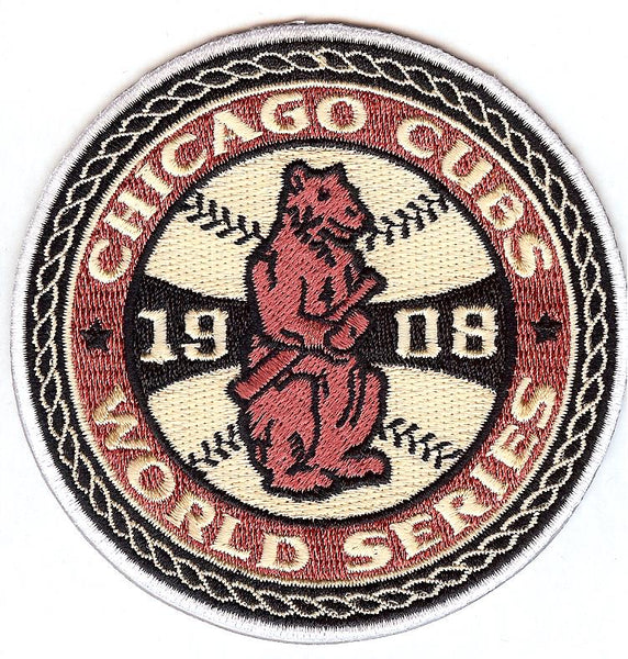 Chicago Cubs 1908 World Series Patch