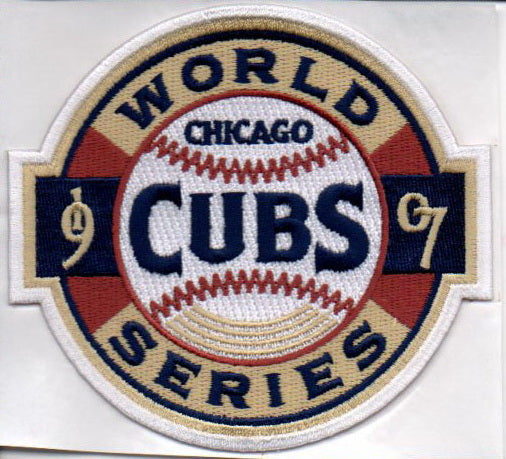Chicago Cubs 1907 World Series Patch