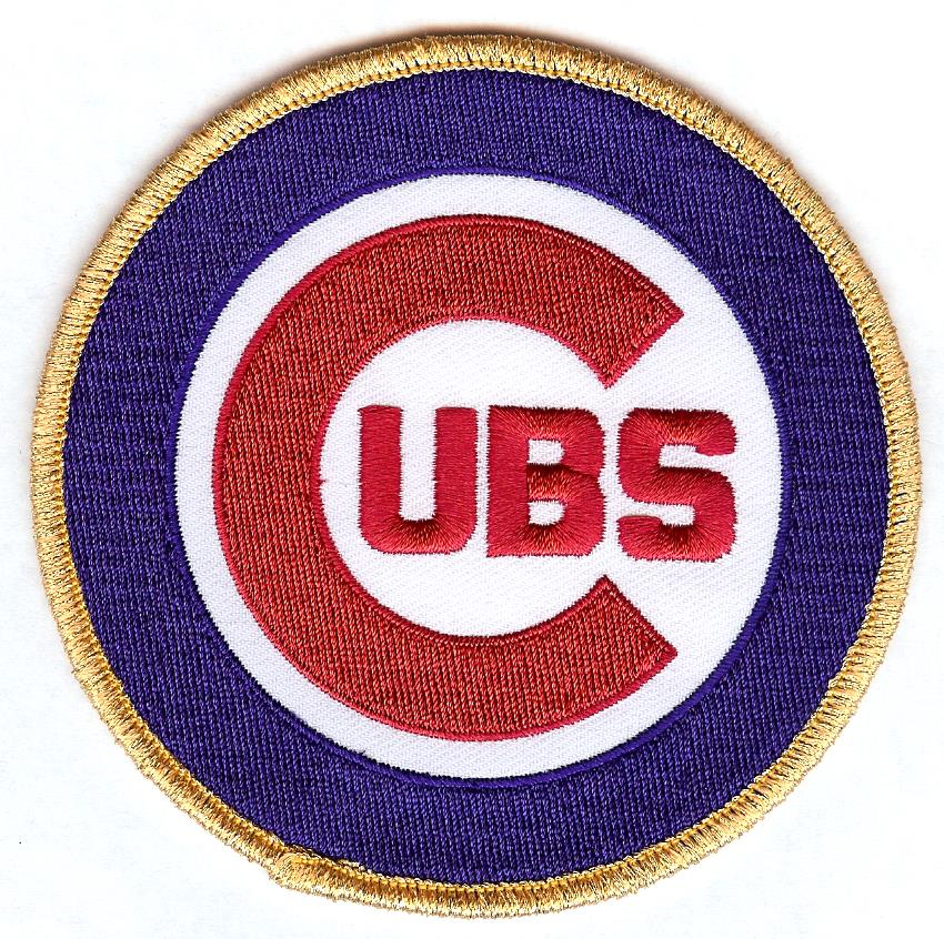 Chicago Cubs Primary Gold Patch (2017)