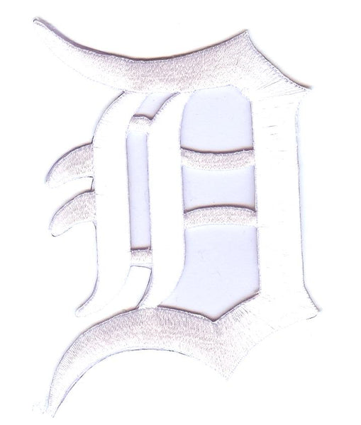Detroit Tigers Primary Logo Patch (White)