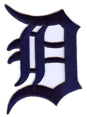 Detroit Tigers Primary Logo Patch (Navy)