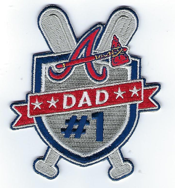 "Atlanta Braves ""Father's Day"" FanPatch"