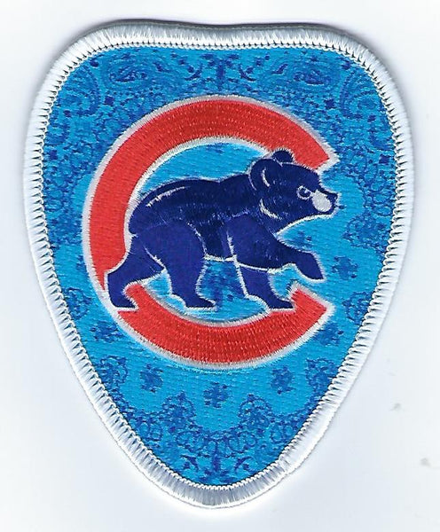"Chicago Cubs ""Bandanna"" FanPatch"