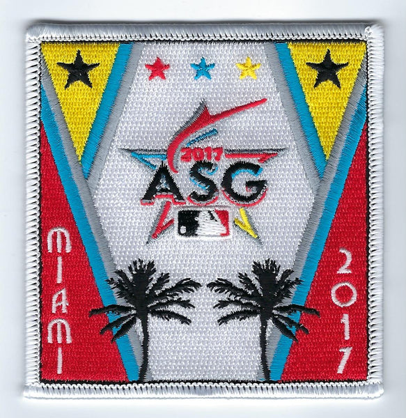 "2017 Major League Baseball All Star Game ""Art Deco"" FanPatch (Miami)"