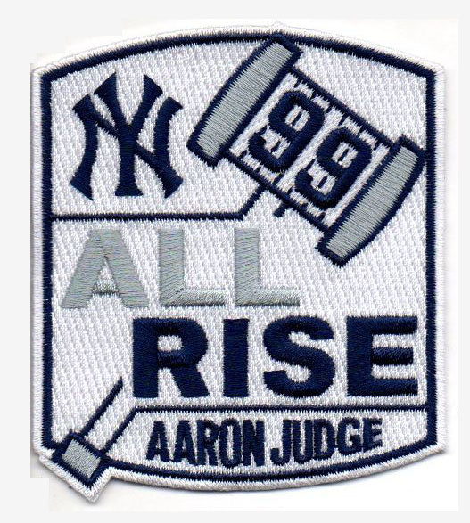 "Aaron Judge #99 ""All Rise-Gavel"" FanPatch"