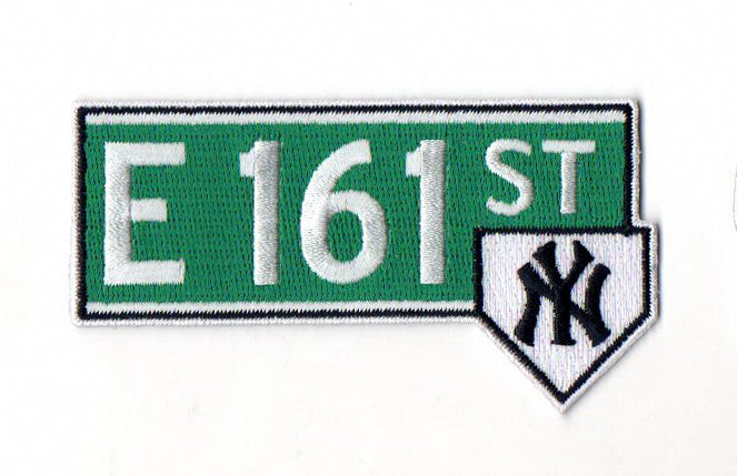 "New York Yankees ""E 161st"" FanPatch"
