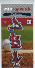 St. Louis Cardinals FanPatch Stickers