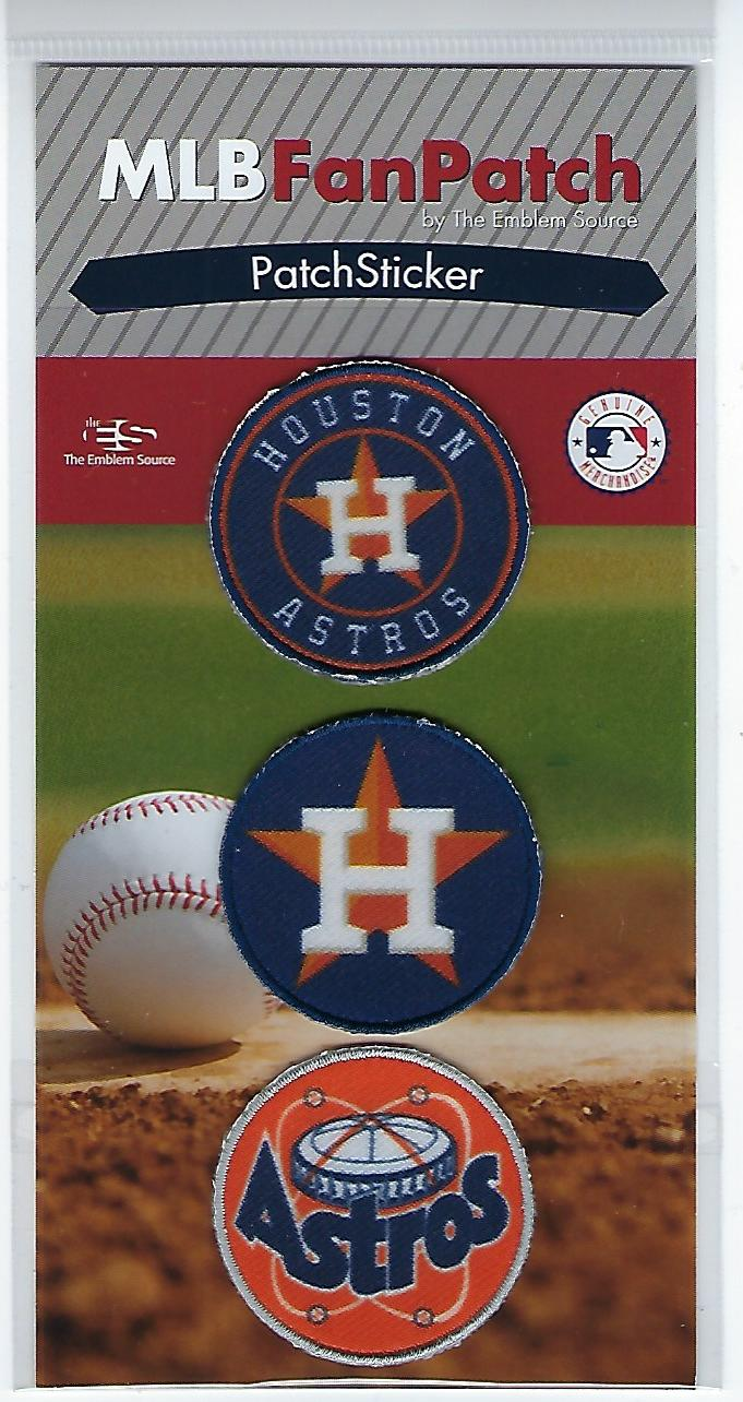 Houston Astros FanPatch Stickers