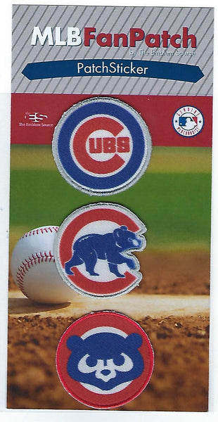 Chicago Cubs Patch Stickers