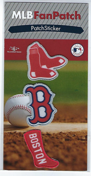 Boston Red Sox FanPatch Stickers