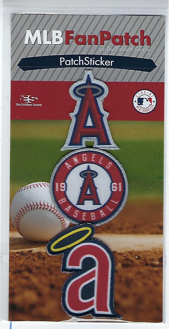Los Angeles Angels FanPatch Stickers