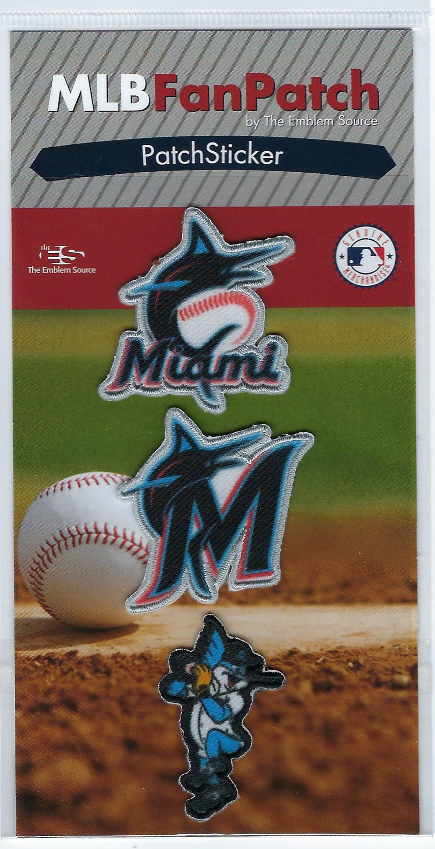 Miami Marlins PatchStickers