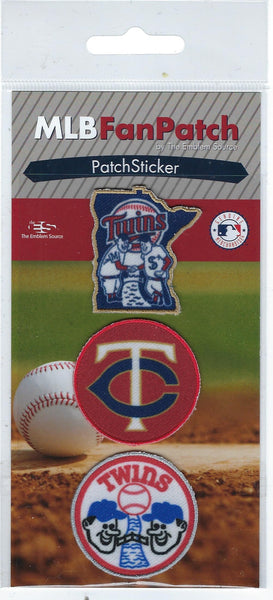 Minnesota Twins FanPatch Stickers