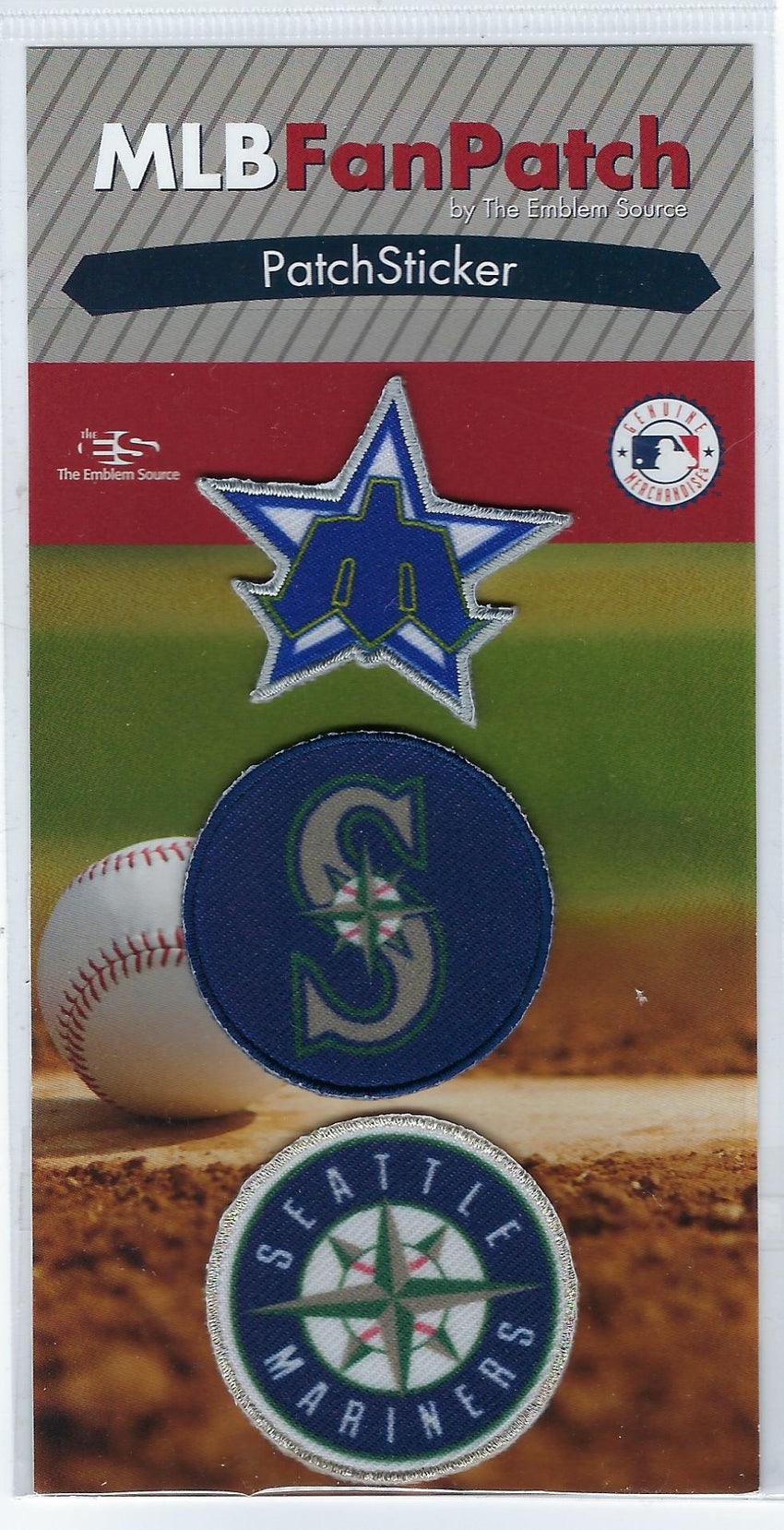 Seattle Mariners PatchStickers