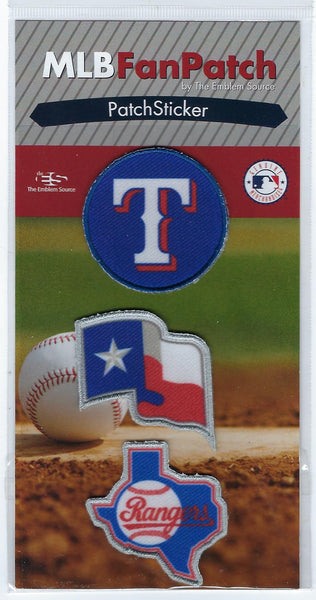 Texas Rangers PatchStickers
