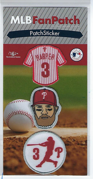 Bryce Harper FanPatch Stickers (Philadelphia Phillies)