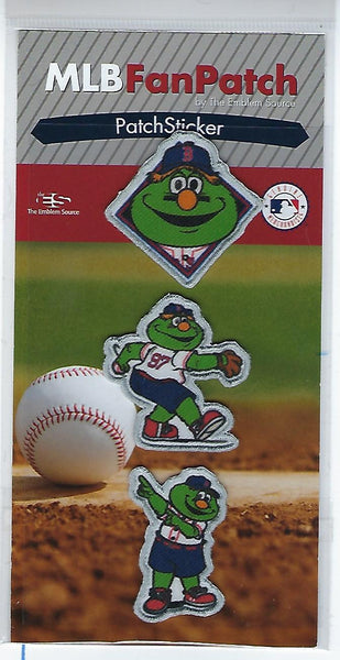 Boston Red Sox Wally Mascot FanPatch Stickers