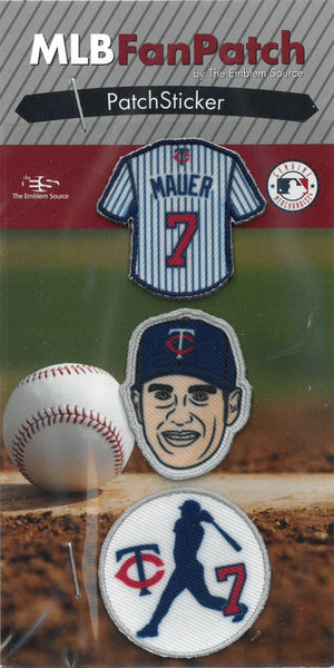 Joe Mauer FanPatch Stickers (Minnesota Twins)