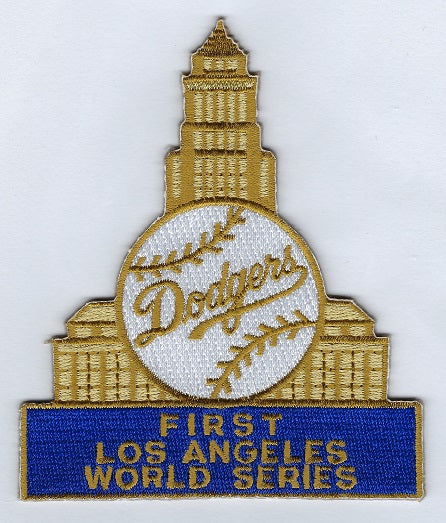 Los Angeles Dodgers 1959 World Series Collector Patch