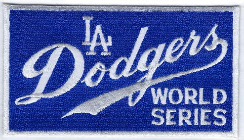 Los Angeles Dodgers 1965 World Series Collector Patch