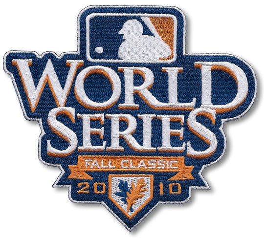 2010 World Series Fall Classic Patch (White Border)