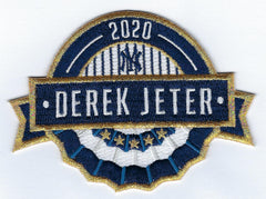 Derek Jeter MLB Hall of Fame Patch