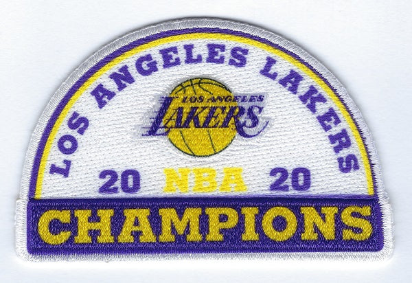 Los Angeles Lakers NBA Champions Patch 4-Pack