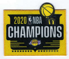 Los Angeles Lakers 2020 NBA Champions Patch