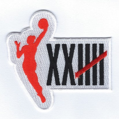 WNBA Primary Icon 25th Season Patch