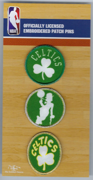Boston Celtics PatchPins