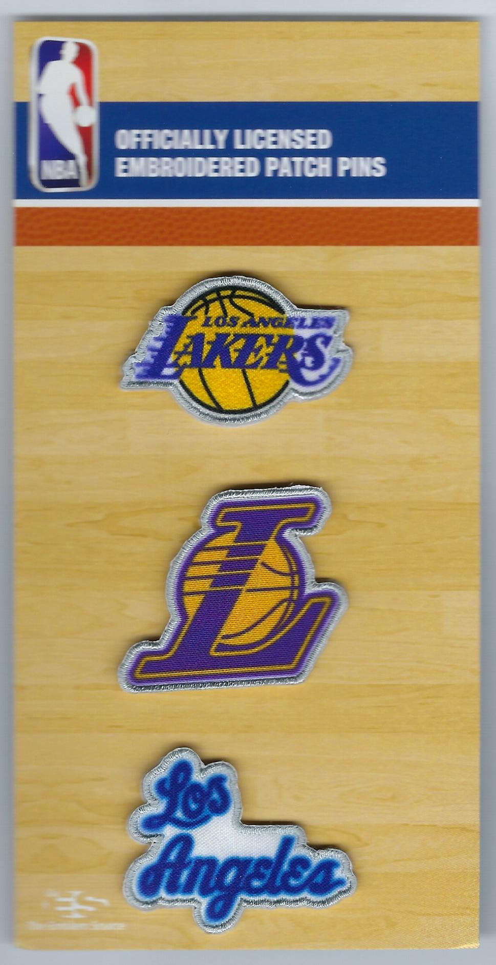 Los Angeles Lakers PatchPins