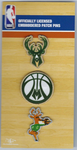 Milwaukee Bucks PatchPins