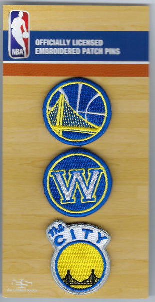 Golden State Warriors PatchPins