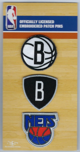 Brooklyn Nets PatchPins