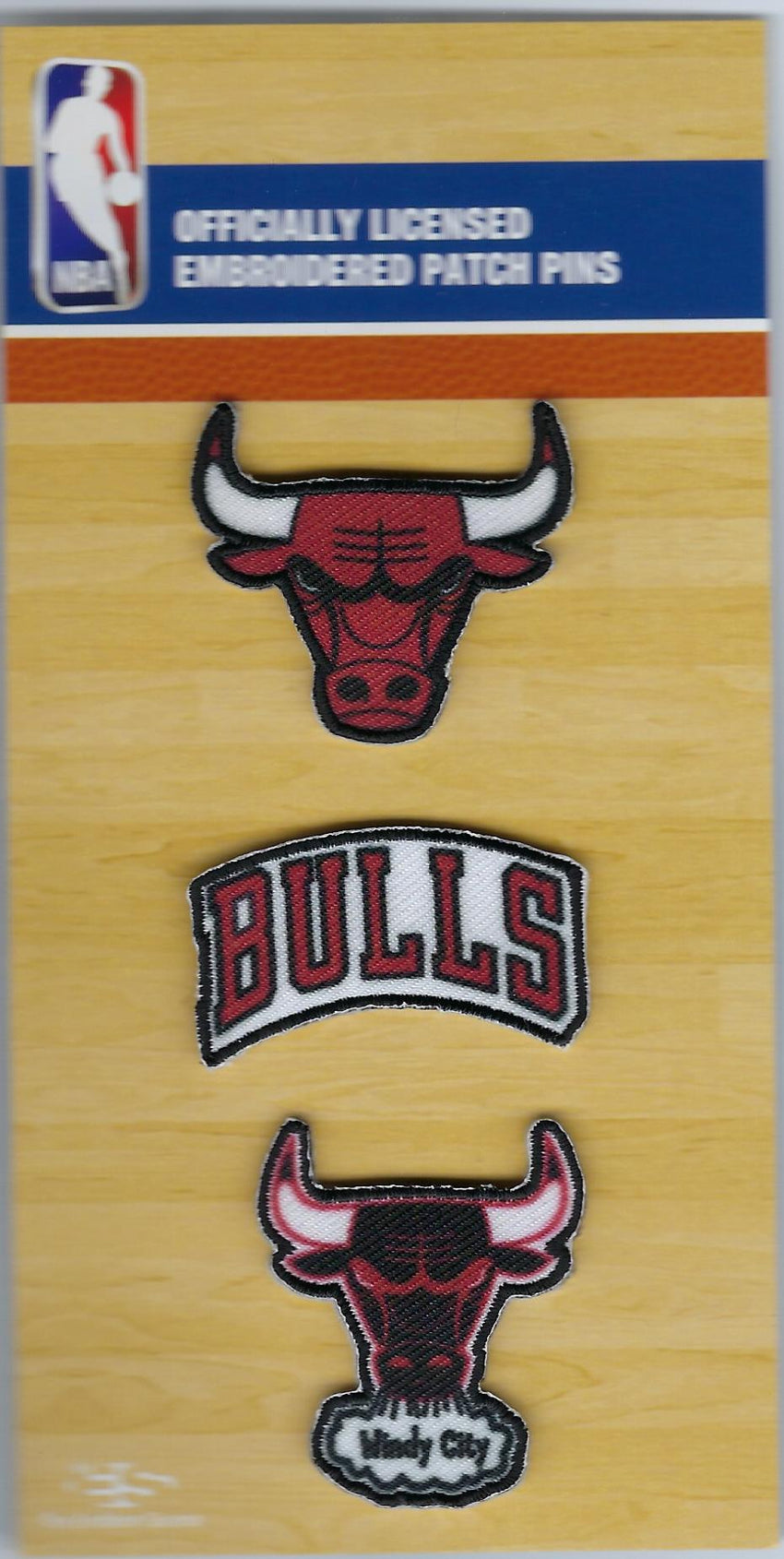Chicago Bulls PatchPins