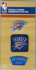 Oklahoma City Thunder PatchPins