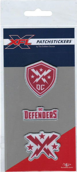 DC Defenders PatchSticker 3-Pack