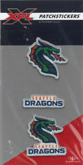 Seattle Dragons PatchSticker 3-Pack