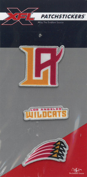 Los Angeles Wildcats PatchSticker 3-Pack