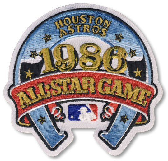 1986 MLB All Star Game Patch