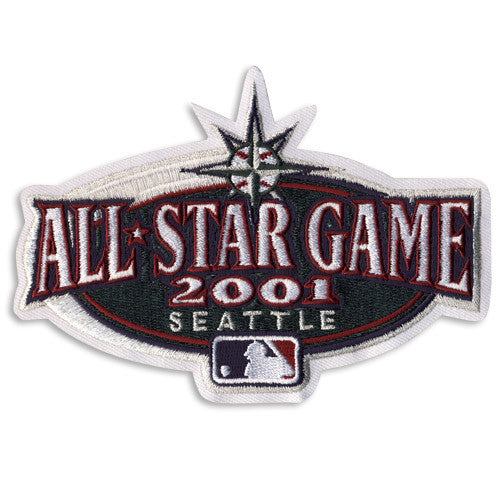 2001 Major League Baseball All Star Game Patch (Seattle)