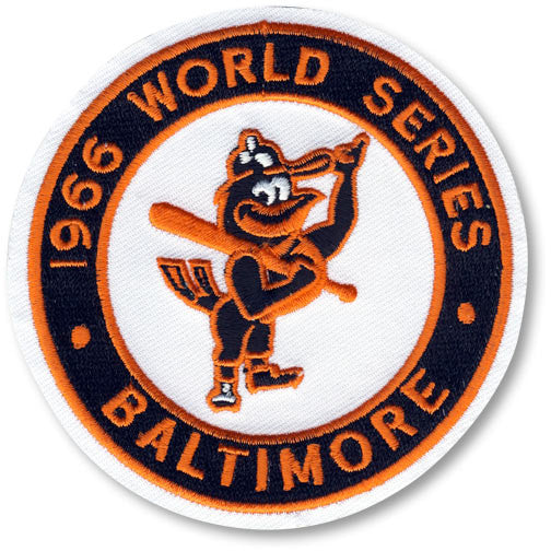 Baltimore Orioles 1966 World Series Championship Patch