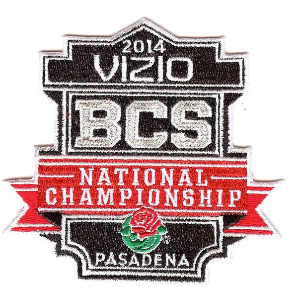 2014 Vizio BCS National Championship Patch